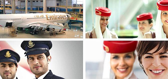 trabajar en emirates airlines