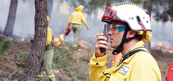 trabajos de verano tecnicos de incendio