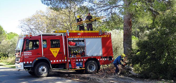 trabajos de verano bomberos
