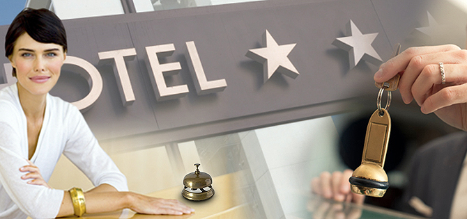 recepcionistas hoteles