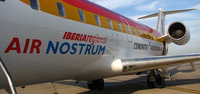 trabajo air nostrum